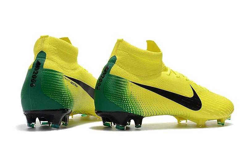 2018 Nike Mercurial Superfly VI 6 Heritage 2006 FG - Yellow Heel