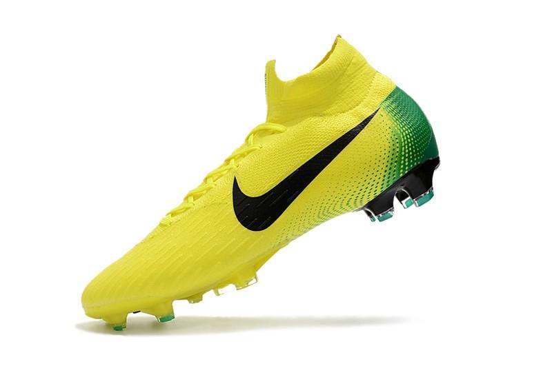 2018 Nike Mercurial Superfly VI 6 Heritage 2006 FG - Yellow Left