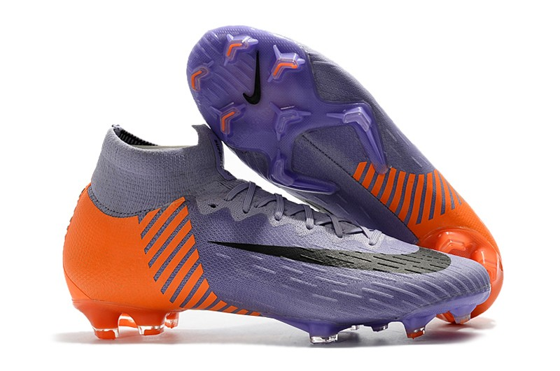 2018 Nike Mercurial Superfly VI 6 Heritage 2010 FG - Orange Purple Right