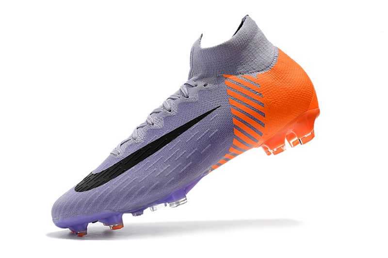 2018 Nike Mercurial Superfly VI 6 Heritage 2010 FG - Orange Purple shoes