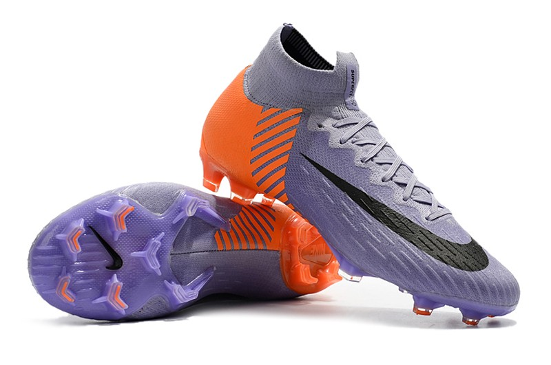 2018 Nike Mercurial Superfly VI 6 Heritage 2010 FG - Orange Purple