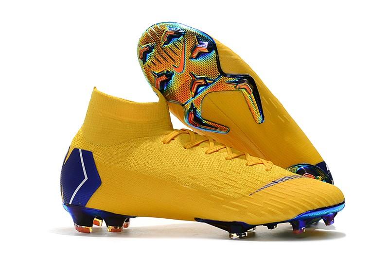Football NIKE Mercurial Superfly VI 360 Elite FG-Laser Orange Blue Sale