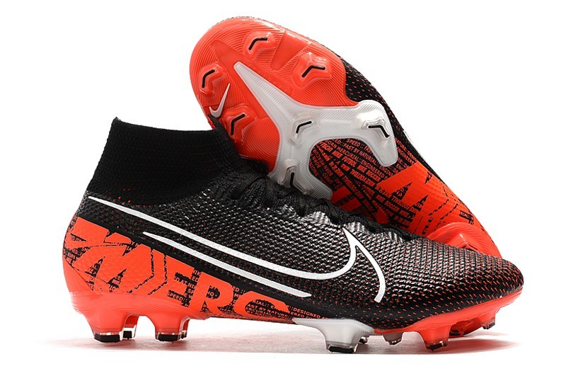 Football Nike Mercurial Superfly 7 Elite FG Singles Day-Black Orange