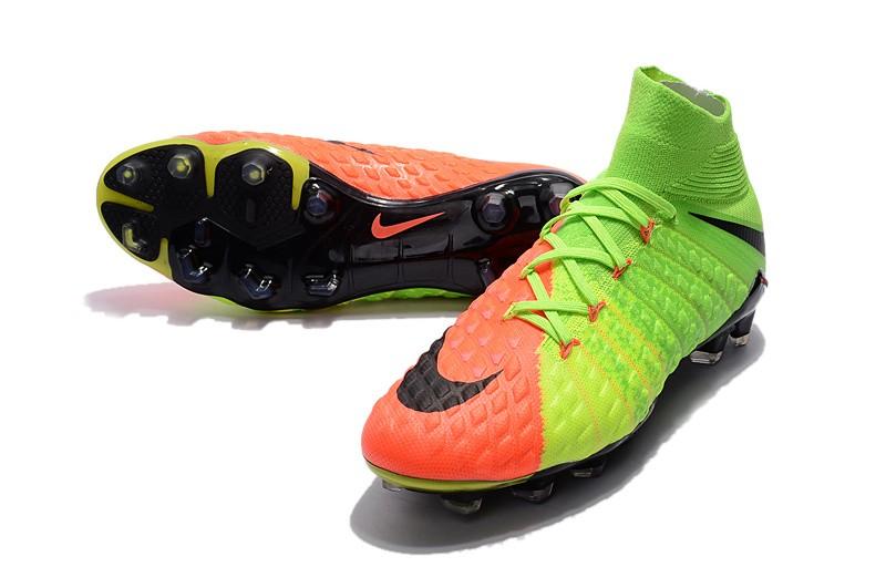 Nike Hypervenom Phantom III DF FG - Hyper Orange Electric Green Black Shop