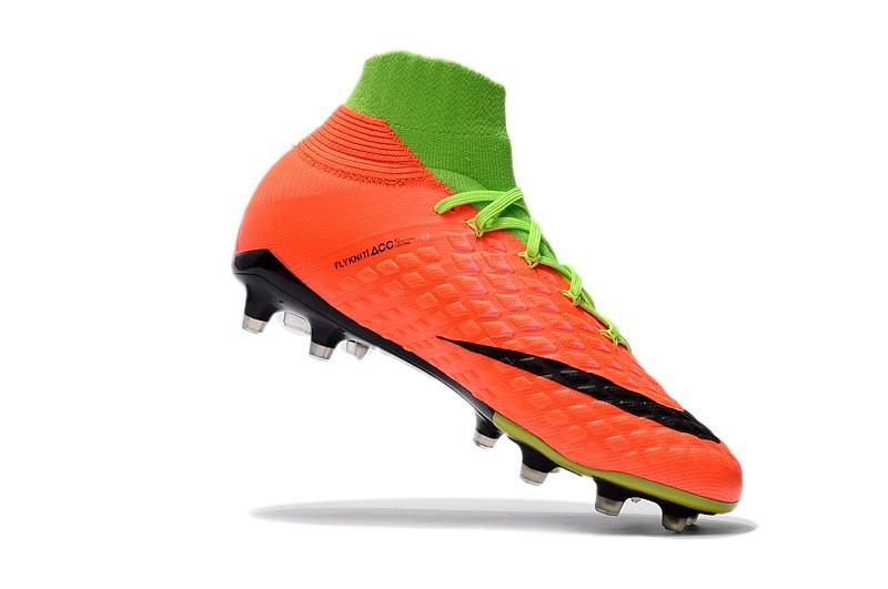 Nike Hypervenom Phantom III DF FG - Hyper Orange Electric Green Black for sale
