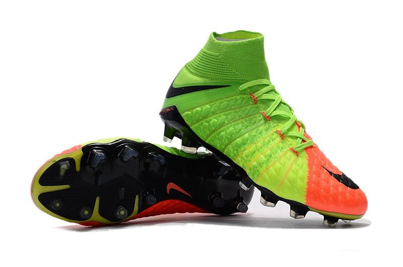 Nike Hypervenom Phantom III DF FG - Hyper Orange Electric Green Black