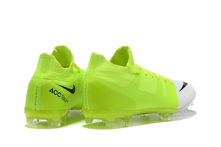 Nike Mercurial Greenspeed 360 FG- White Solar Green Heel