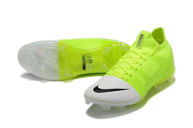 Nike Mercurial Greenspeed 360 FG- White Solar Green panel