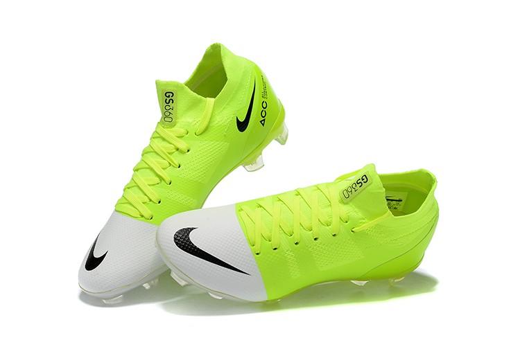 Nike Mercurial Greenspeed 360 FG- White Solar Green