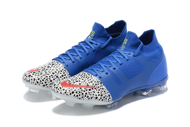 Nike Mercurial Greenspeed 360 FG - WhiteRacer Blue Football