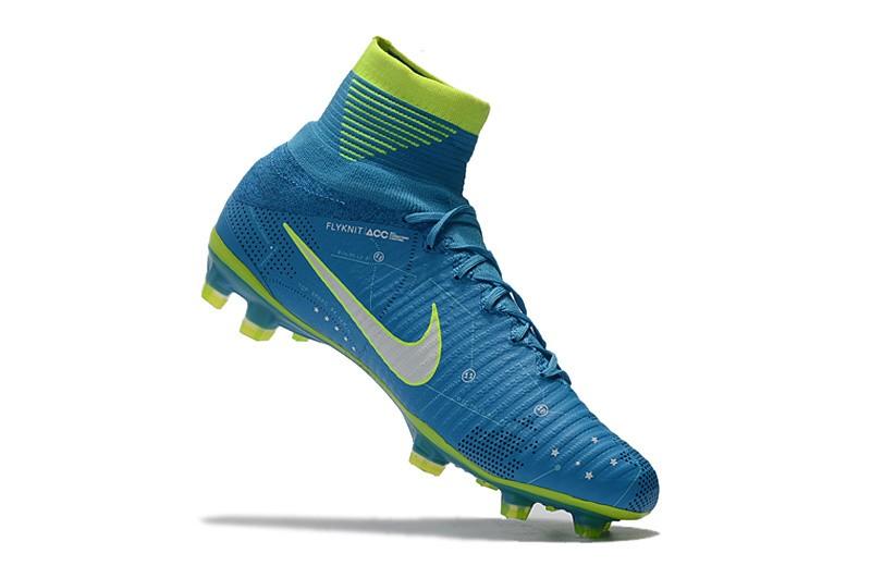Nike Mercurial SuperFly V 5 FG Neymar NJR - White Blue Volt