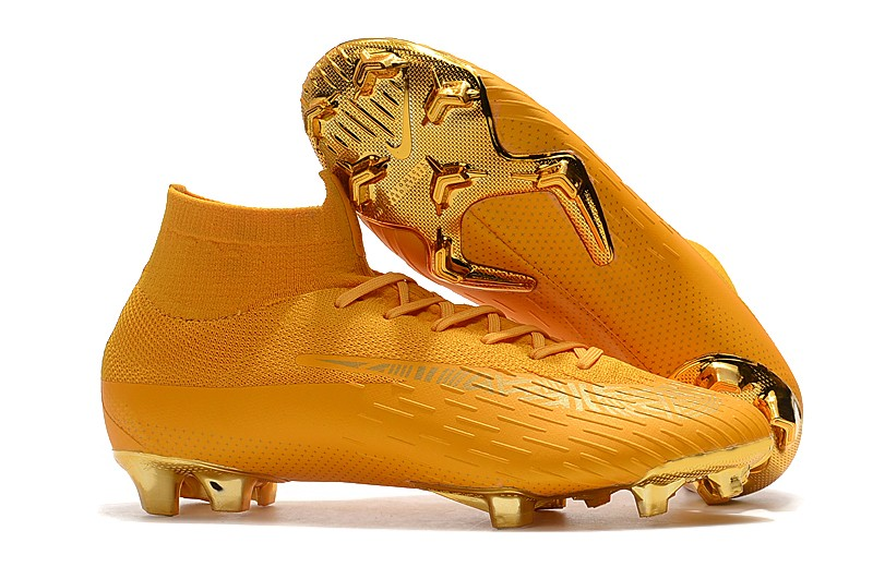 Nike Mercurial Superfly 6 VI 360 Elite Fg-Total gold Right