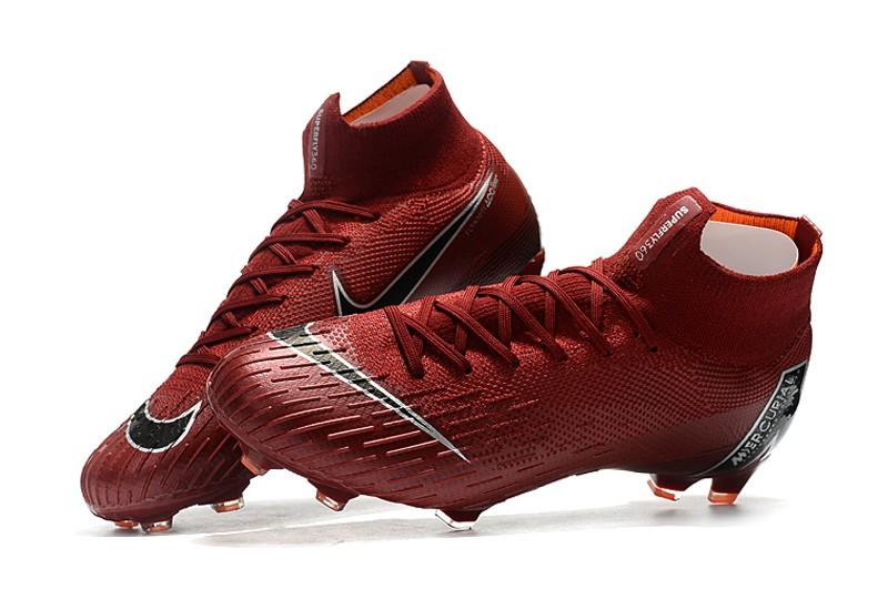 Nike Mercurial Superfly VI 6 Elite FG-Crimson shoes