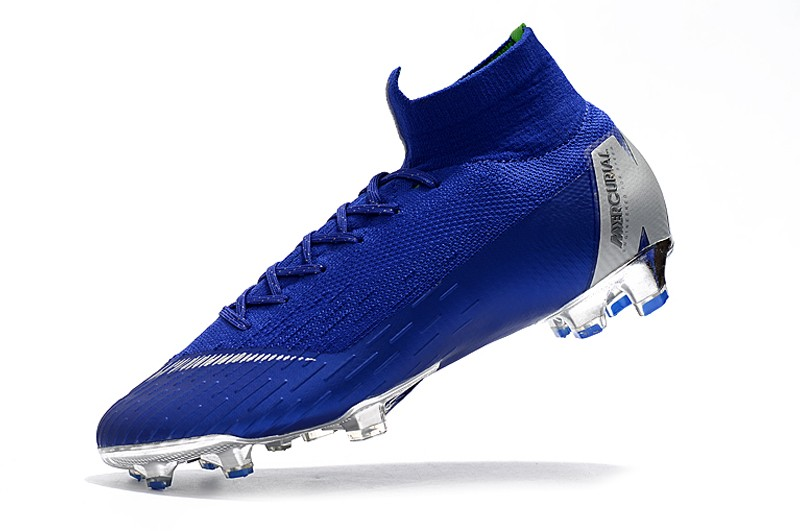 Nike Mercurial Superfly VI 6 Elite FG-Silver Blue Sell