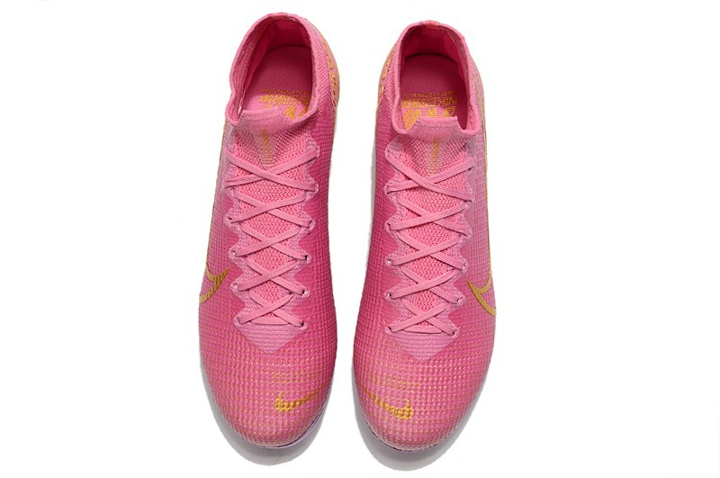 Nike Mercurial Superfly VII Elite FG Ballon d'Or Sell Retail - Pink Purple Gold panel