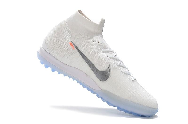 Nike Mercurial SuperflyX VI 6 Elite TF-White Metallic Cool Grey Right