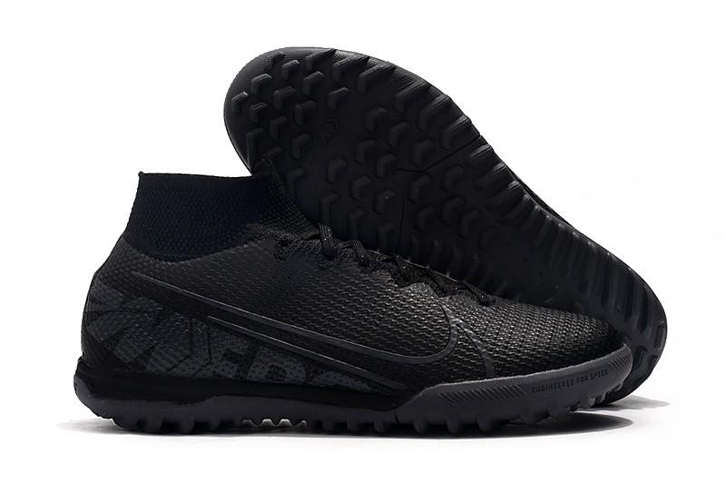 Nike Mercurial Superfly VII 7 Elite TF Under The Radar - Black