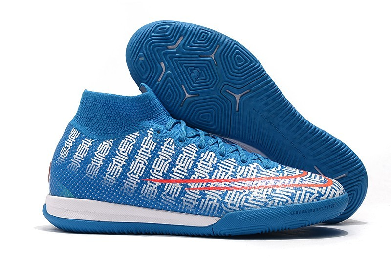 Nike Mercurial Superfly VII Elite IC CR7 Cristiano Ronaldo Handsome-Blue Red Sell