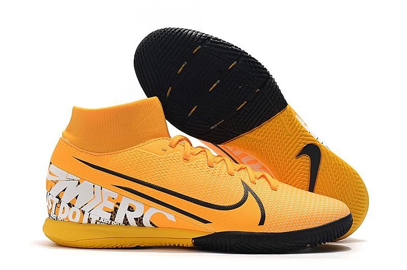 Nike Mercurial SuperflyX VII 7 Academy IC New Light-Orange Black White Right