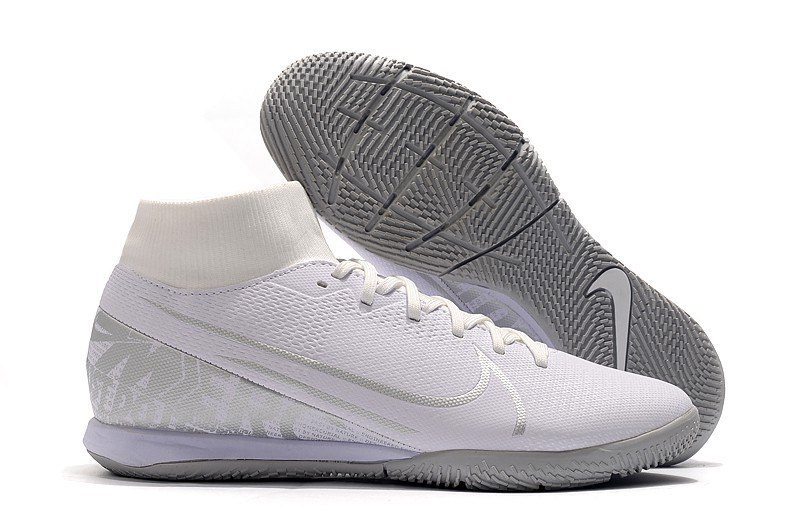 Nike Mercurial SuperflyX VII 7 Academy IC Nuovo White-Silver Right