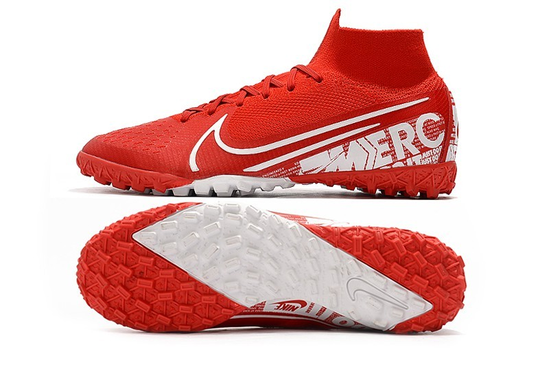 Nike Mercurial SuperflyX VII 7 Elite TF Nike By You - Red White Left