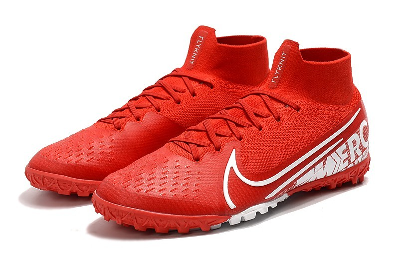 Nike Mercurial SuperflyX VII 7 Elite TF Nike By You - Red White Upper