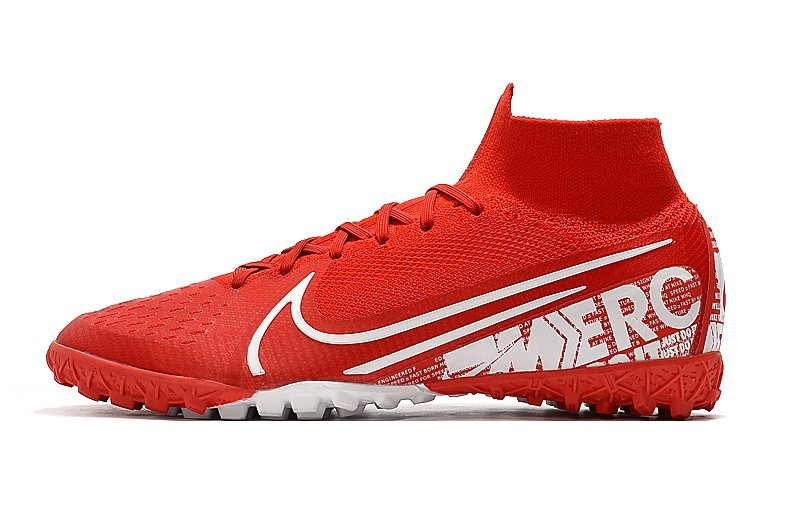 Nike Mercurial SuperflyX VII 7 Elite TF Nike By You - Red White side