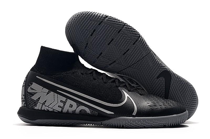 Nike Mercurial SuperflyX VII Elite IC - Core Black Grey Black