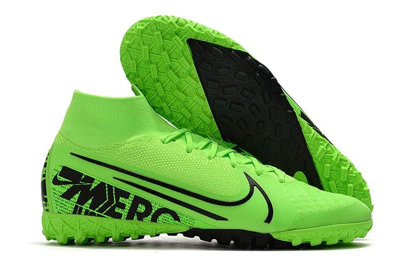 Nike Mercurial SuperflyX VII Elite TF - Green Black Right