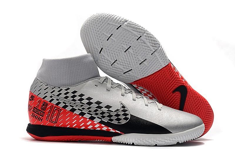 Nike Mercurial SuperflyX VII-Lattice-White Black Red Right