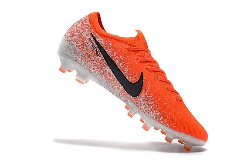 Nike Mercurial Vapor XII 12 AG Euphoria Pack - Total Orange Black White shoes