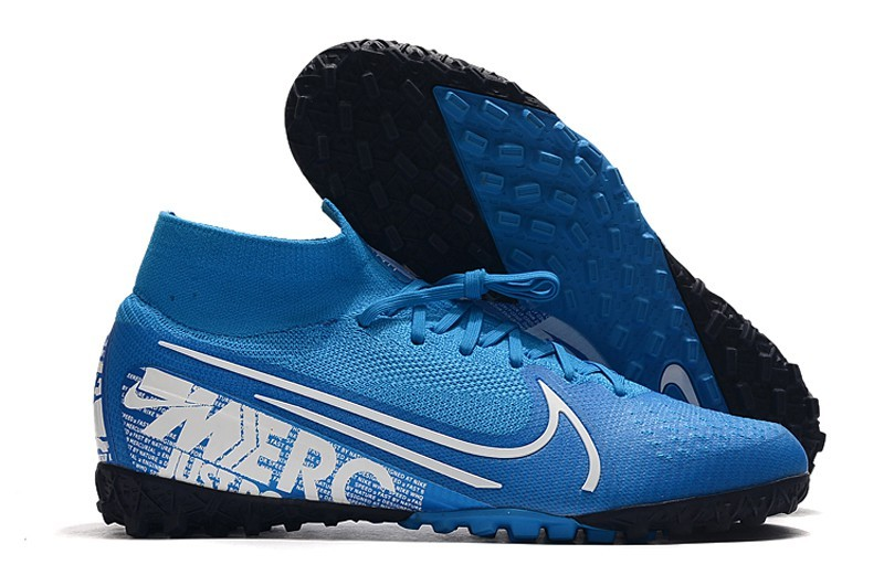 Nike SuperflyX VI Elite TF-New Light Blue White Sell