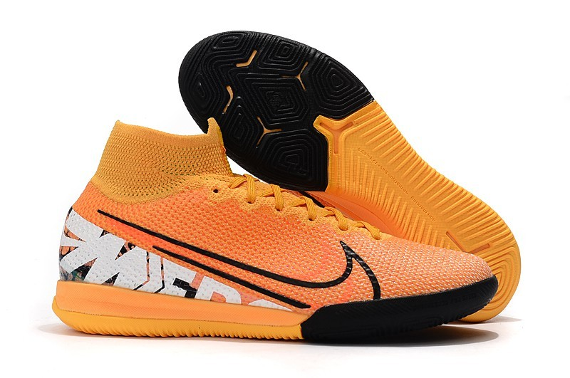 Nike SuperflyX VII 7 Elite IC New Lights - Orange Black
