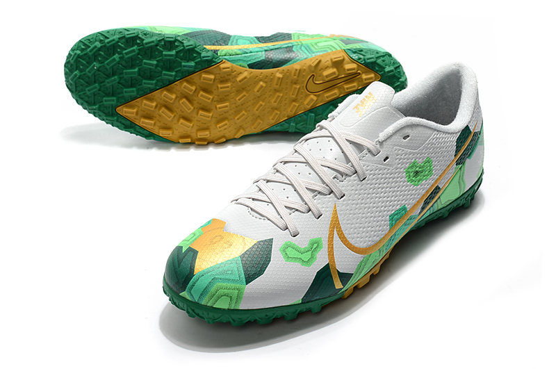 Nike Mercurial Vapor 13 Academy TF-Green White Yellow Upper