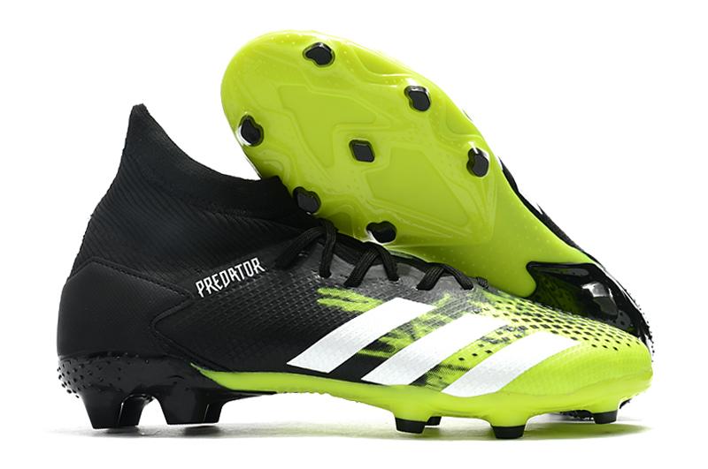 Adidas Falcon 20.3 FG black green side