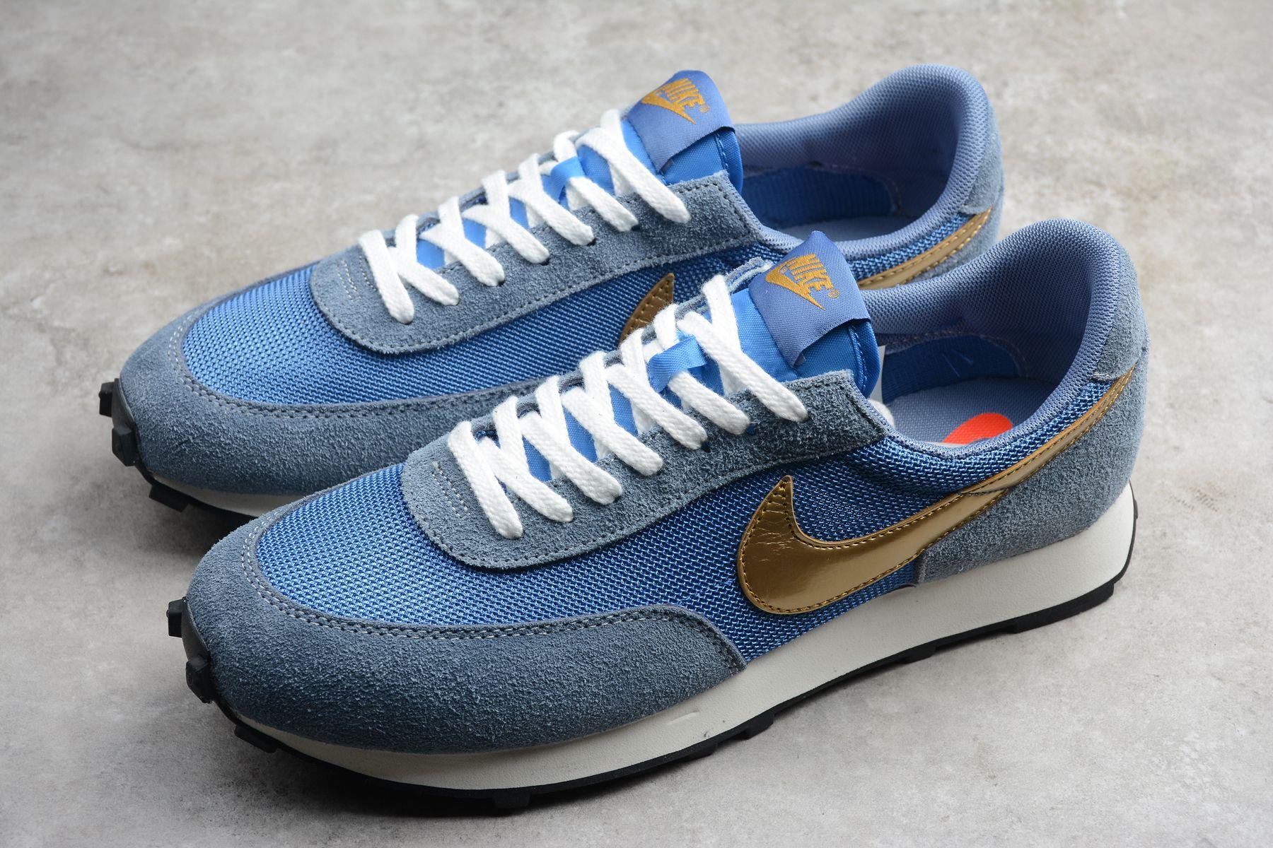 Nike Daybreak Metallic Gold Blue