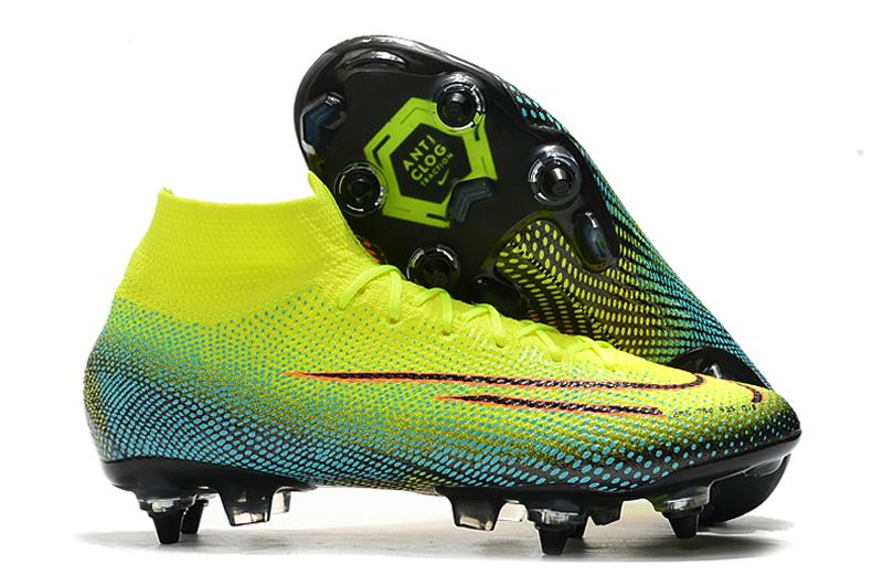 Nike Dream Speed Mercurial Vapor Academy AG-Yellow orange side