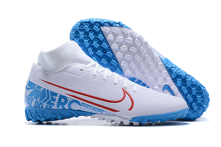Nike Mercurial Dream Speed 002 Superfly VII Club TF-White Blue Right