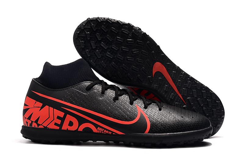 Nike Mercurial Superfly VII 360 TF Tamaño-Negro Rojo whirlwind