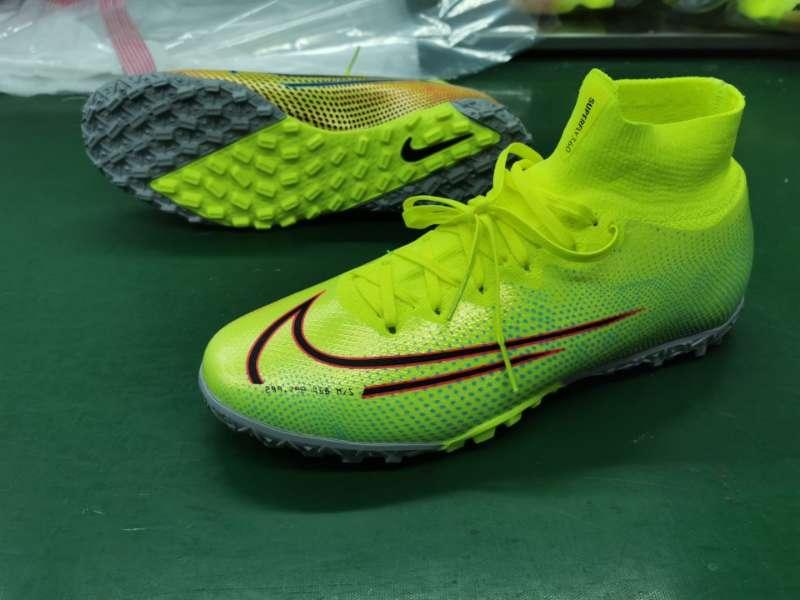 Nike Mercurial Superfly VII 7 Elite TF -Yellow gray