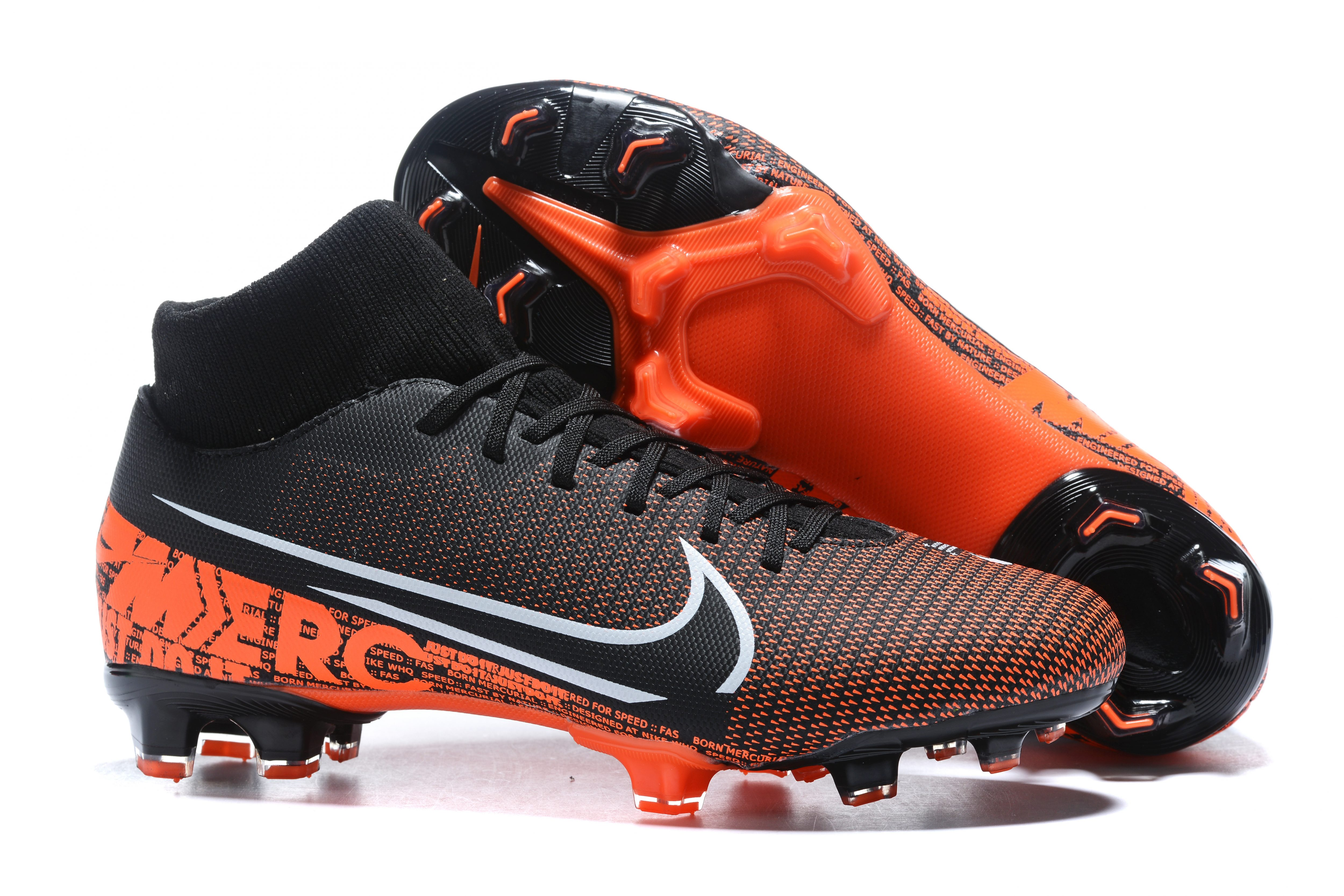 Nike Mercurial Superfly VII Club FG-Black red Sell
