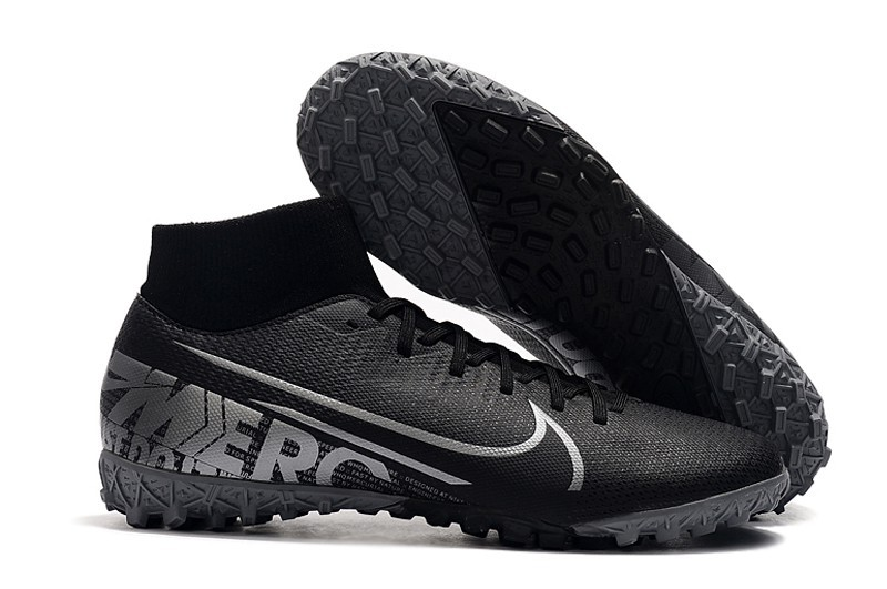 Nike Mercurial SuperflyX VII 7 Academy TF - Core Black Grey Black