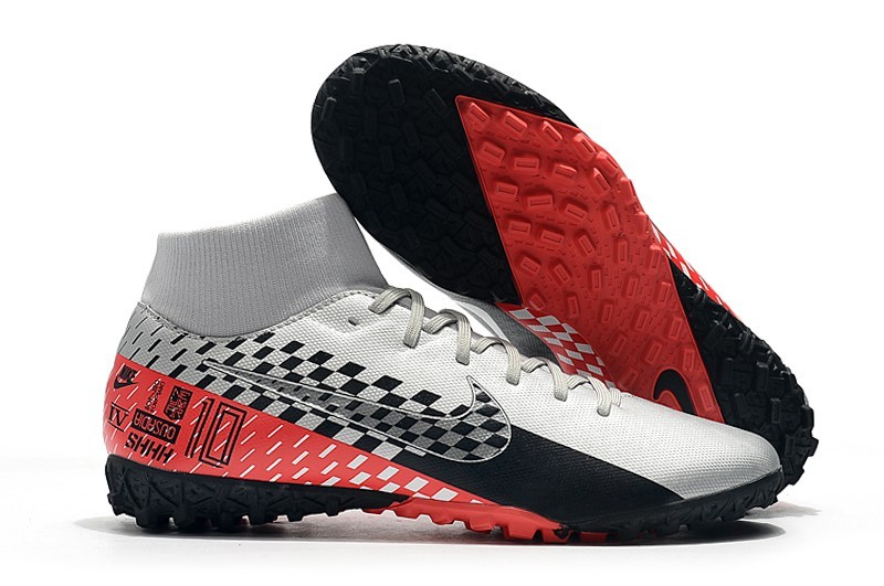 Nike Mercurial SuperflyX VII 7TF-White Black Red Sell