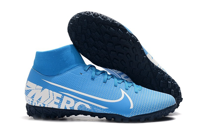 Nike Mercurial SuperflyX VII Academy TF New Light-Blue White Sell