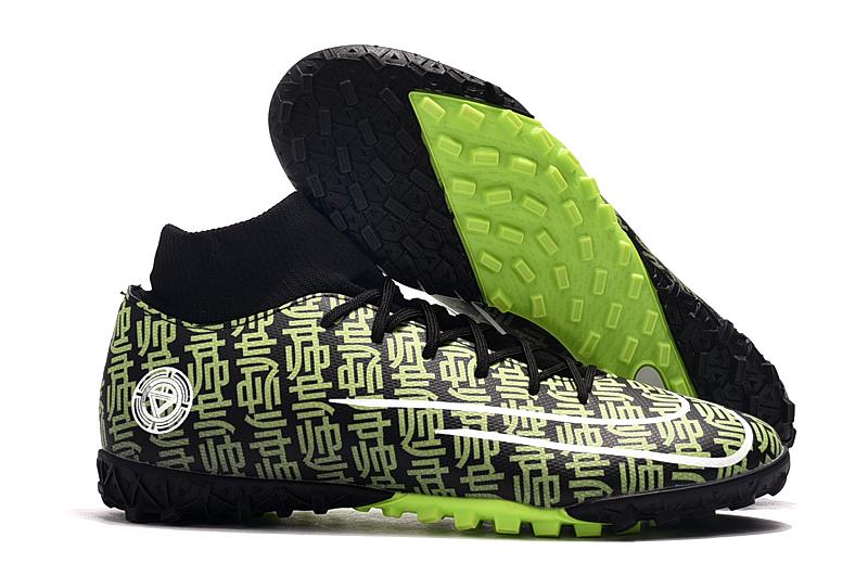 Nike Mercurial Vapor 13 TF Size-Verde negro Right