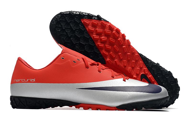 Mula gemelo mordedura  Nike Mercurial Vapor Mbappe'Bondy' TF boots-Red Grey Selling