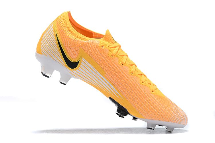 Nike Mercurial Vapor VII 13 Elite FG-yellow white black Shop