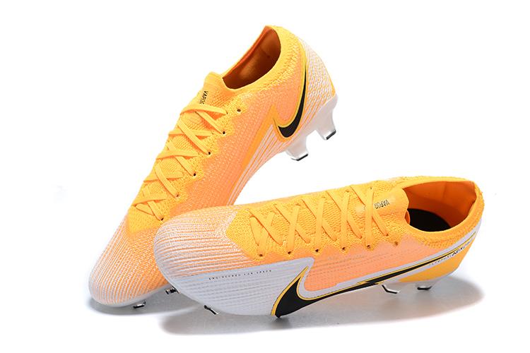 Nike Mercurial Vapor VII 13 Elite FG-yellow white black Upper