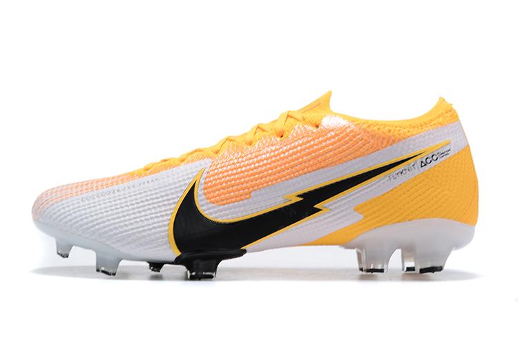 Nike Mercurial Vapor VII 13 Elite FG-yellow white black side