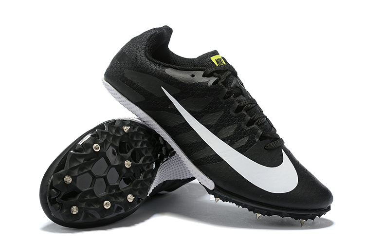 Nike Rival S9 -All black and white Right